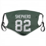 Green Bay Packers Darrius Shepherd Green Jersey Name & Number Face Mask