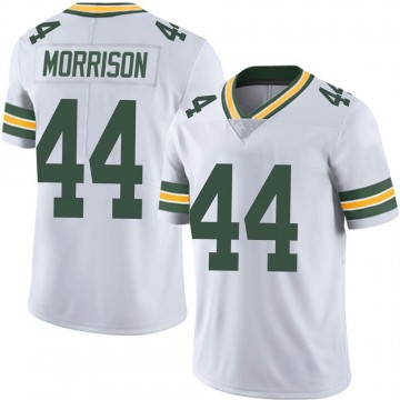 Men's Nike Green Bay Packers Antonio Morrison White Vapor Untouchable Jersey - Limited