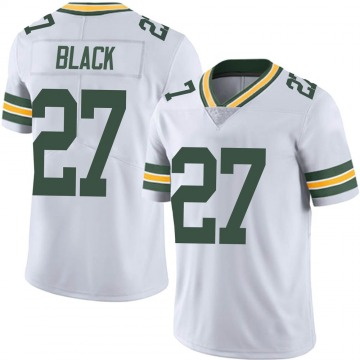Men's Nike Green Bay Packers Henry Black White Vapor Untouchable Jersey - Limited
