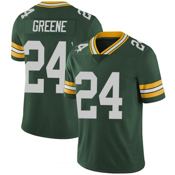 Men's Nike Green Bay Packers Raven Greene Green Team Color Vapor Untouchable Jersey - Limited