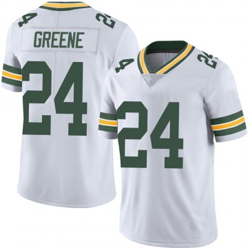 Men's Nike Green Bay Packers Raven Greene White Vapor Untouchable Jersey - Limited