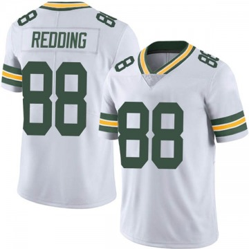 Men's Nike Green Bay Packers Teo Redding White Vapor Untouchable Jersey - Limited