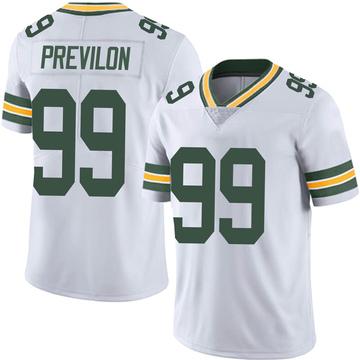 Men's Nike Green Bay Packers Willington Previlon White Vapor Untouchable Jersey - Limited