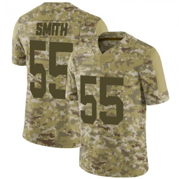 Men's Green Bay Packers Za'Darius Smith Camo 2018 Salute to Service Jersey - Limited