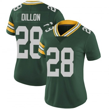 Women's Nike Green Bay Packers AJ Dillon Green Team Color Vapor Untouchable Jersey - Limited