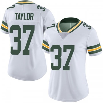 Women's Nike Green Bay Packers Aaron Taylor White Vapor Untouchable Jersey - Limited