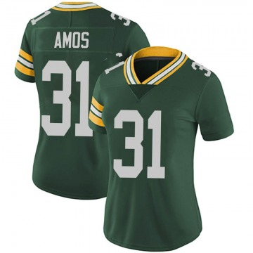 Women's Nike Green Bay Packers Adrian Amos Green Team Color Vapor Untouchable Jersey - Limited