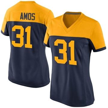 Women's Nike Green Bay Packers Adrian Amos Navy Alternate Jersey - Game