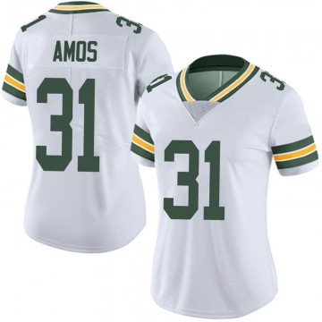 Women's Nike Green Bay Packers Adrian Amos White Vapor Untouchable Jersey - Limited
