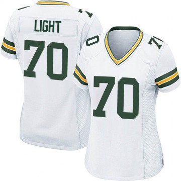 Women's Nike Green Bay Packers Alex Light White Jersey - Game