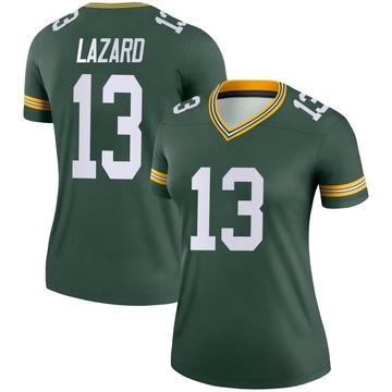 Women's Nike Green Bay Packers Allen Lazard Green Jersey - Legend