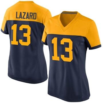 Women's Nike Green Bay Packers Allen Lazard Navy Alternate Jersey - Game