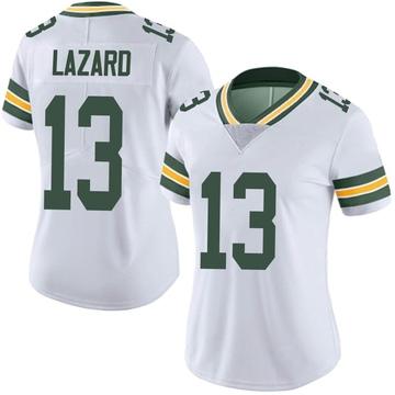 Women's Nike Green Bay Packers Allen Lazard White Vapor Untouchable Jersey - Limited