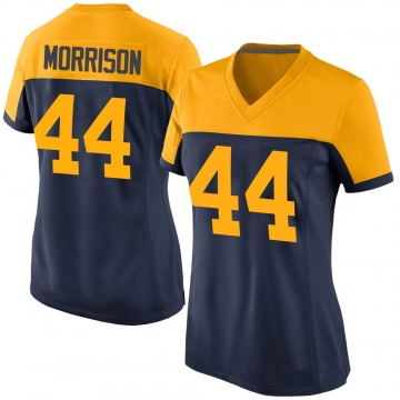 Women's Nike Green Bay Packers Antonio Morrison Navy Alternate Jersey - Game