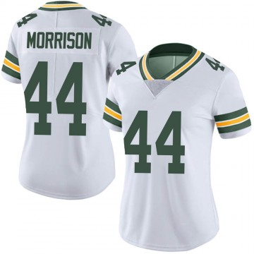 Women's Nike Green Bay Packers Antonio Morrison White Vapor Untouchable Jersey - Limited