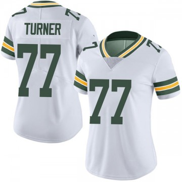Women's Nike Green Bay Packers Billy Turner White Vapor Untouchable Jersey - Limited