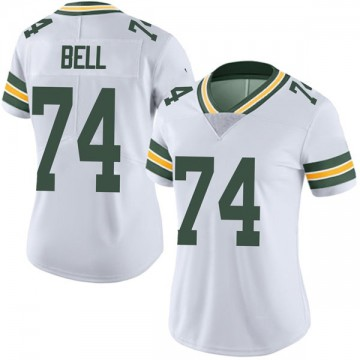 Women's Nike Green Bay Packers Byron Bell White Vapor Untouchable Jersey - Limited