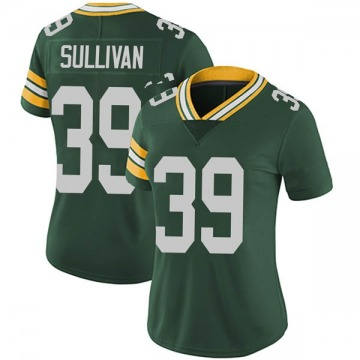 Women's Nike Green Bay Packers Chandon Sullivan Green Team Color Vapor Untouchable Jersey - Limited