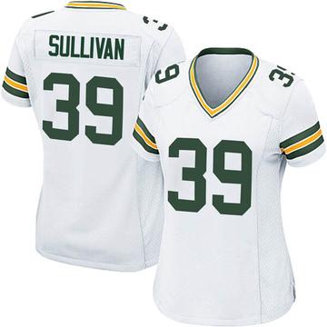 Women's Nike Green Bay Packers Chandon Sullivan White Jersey - Game