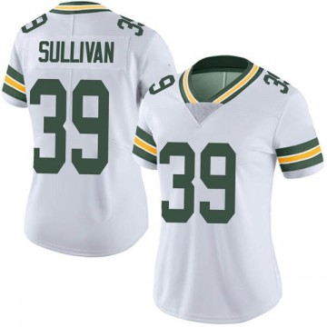 Women's Nike Green Bay Packers Chandon Sullivan White Vapor Untouchable Jersey - Limited