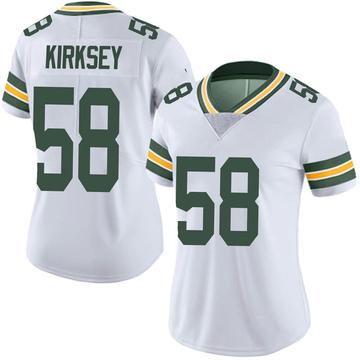 Women's Nike Green Bay Packers Christian Kirksey White Vapor Untouchable Jersey - Limited
