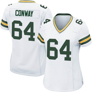 Women's Nike Green Bay Packers Cody Conway White Jersey - Game