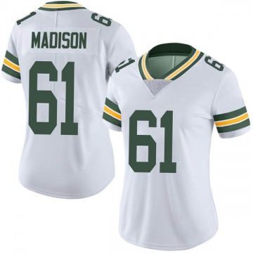 Women's Nike Green Bay Packers Cole Madison White Vapor Untouchable Jersey - Limited