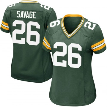 Women's Nike Green Bay Packers Darnell Savage Jr. Green Team Color Jersey - Game