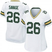 Women's Nike Green Bay Packers Darnell Savage White Jersey - Game