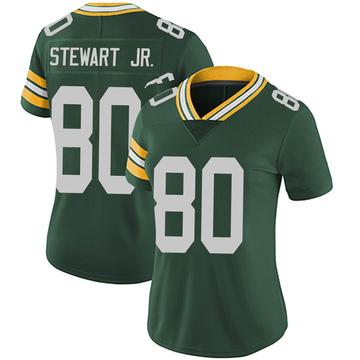 Women's Nike Green Bay Packers Darrell Stewart Jr. Green Team Color Vapor Untouchable Jersey - Limited