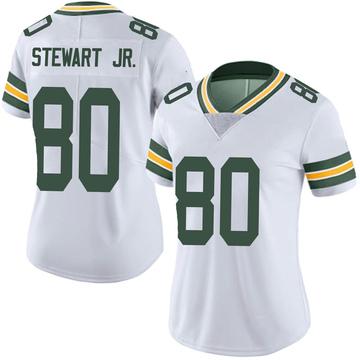 Women's Nike Green Bay Packers Darrell Stewart Jr. White Vapor Untouchable Jersey - Limited