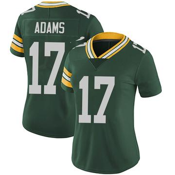 Women's Nike Green Bay Packers Davante Adams Green Team Color Vapor Untouchable Jersey - Limited