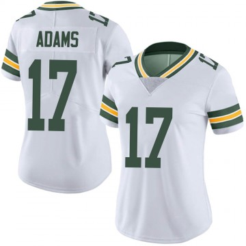 Women's Nike Green Bay Packers Davante Adams White Vapor Untouchable Jersey - Limited