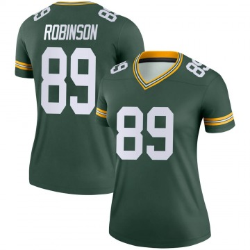 Women's Nike Green Bay Packers Dave Robinson Green Jersey - Legend