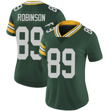 Women's Nike Green Bay Packers Dave Robinson Green Team Color Vapor Untouchable Jersey - Limited