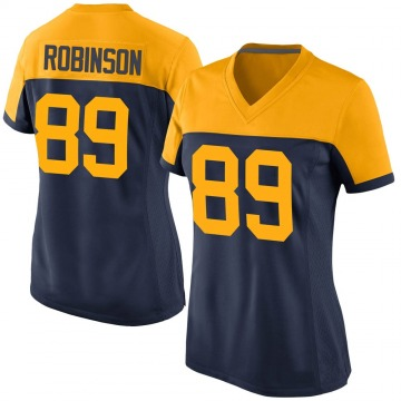 Women's Nike Green Bay Packers Dave Robinson Navy Alternate Jersey - Game