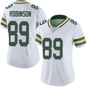 Women's Nike Green Bay Packers Dave Robinson White Vapor Untouchable Jersey - Limited