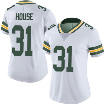 Women's Nike Green Bay Packers Davon House White Vapor Untouchable Jersey - Limited