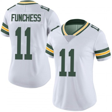 Women's Nike Green Bay Packers Devin Funchess White Vapor Untouchable Jersey - Limited