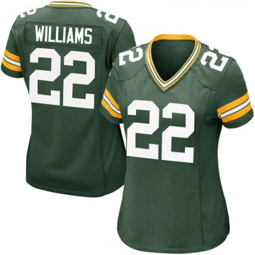 Women's Nike Green Bay Packers Dexter Williams Green Team Color Jersey - Game