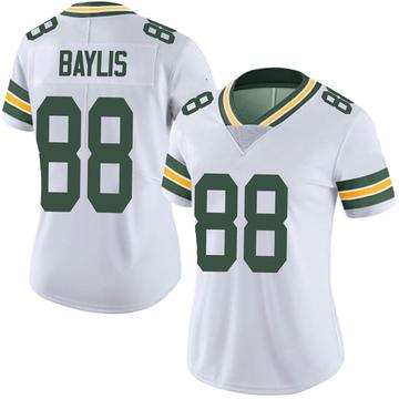 Women's Nike Green Bay Packers Evan Baylis White Vapor Untouchable Jersey - Limited