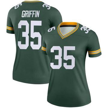 Women's Nike Green Bay Packers Frankie Griffin Green Jersey - Legend