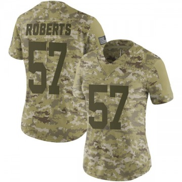 Women's Nike Green Bay Packers Greg Roberts Camo 2018 Salute to Service Jersey - Limited