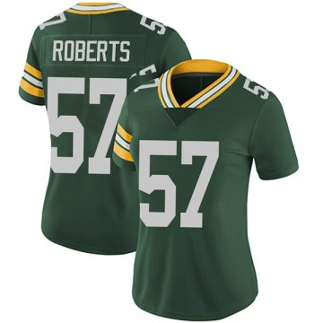 Women's Nike Green Bay Packers Greg Roberts Green Team Color Vapor Untouchable Jersey - Limited
