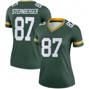 Women's Nike Green Bay Packers Jace Sternberger Green Jersey - Legend