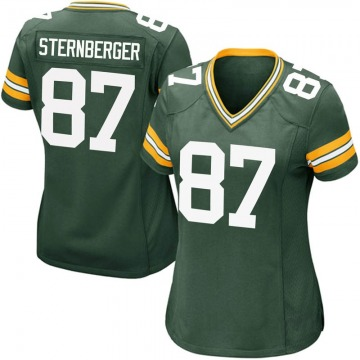 Women's Nike Green Bay Packers Jace Sternberger Green Team Color Jersey - Game