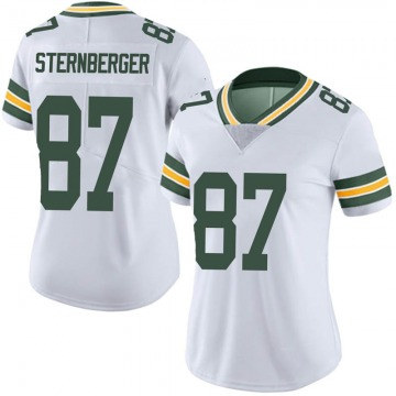 Women's Nike Green Bay Packers Jace Sternberger White Vapor Untouchable Jersey - Limited