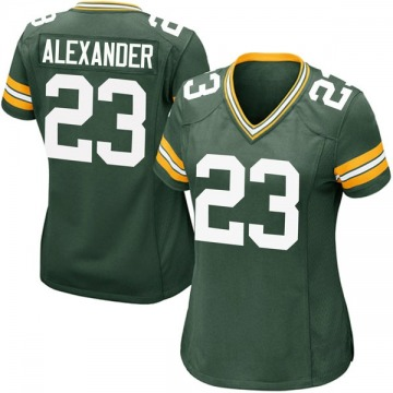 Women's Nike Green Bay Packers Jaire Alexander Green Team Color Jersey - Game