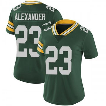 Women's Nike Green Bay Packers Jaire Alexander Green Team Color Vapor Untouchable Jersey - Limited