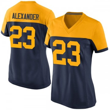 Women's Nike Green Bay Packers Jaire Alexander Navy Alternate Jersey - Game